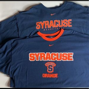VTG Nike Syracuse shirt bundle men's 2xl